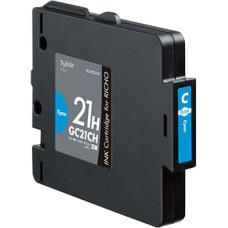 Richo GC-21C Cyan 27 ml replacement ink cartridge