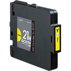 Richo GC-21Y Yellow 27 ml replacement ink cartridge