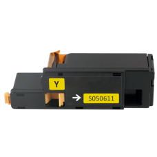 Epson 0611 Yellow (1400 pages) C13S050611. Compatible Toner Cartridge  (not Epson Original).