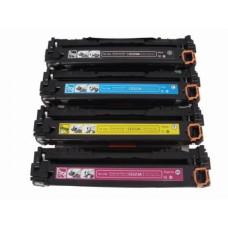 HP CF371AM / 128A Set Black/Cyan/Yellow/Magenta (7800 pages) Toner Cartridges compatible (not HP Original).