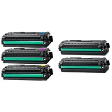 Samsung CLT-506L Set: Plus BK 2xCLT-K506L + CLT-C506L + CLT-M506L + CLT-Y506L (2xBK/C/M/Y, 22500 pages). Compatible Toner Cartridges
