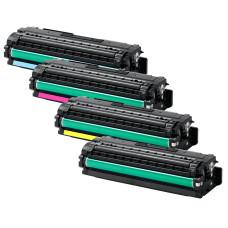 Samsung CLT-506L Set: CLT-K506L + CLT-C506L + CLT-M506L + CLT-Y506L (BK/C/M/Y, 16500 pages). Compatible Toner Cartridges