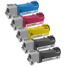 Xerox Phaser 6500 XL Set Plus BK (2xSvart/Cyan/Magenta/Gul) 13500 pages Toner Cartridges, Compatible (2 x 106R01597 + 106R01596 + 106R01595  + 106R01594). Free Delivery!
