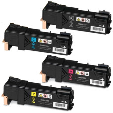 Xerox Phaser 6500 XL Set Black/Cyan/Magenta/Yellow 10500 pages Toner Cartridge, Compatible (106R01597 + 106R01596 + 106R01595  + 106R01594). Free Delivery!